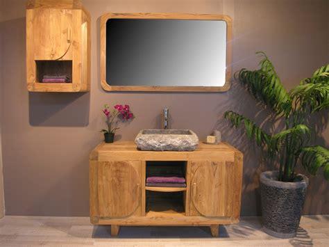 meuble salle de bain teck haut de gamme