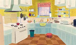 Animated Kitchen Background