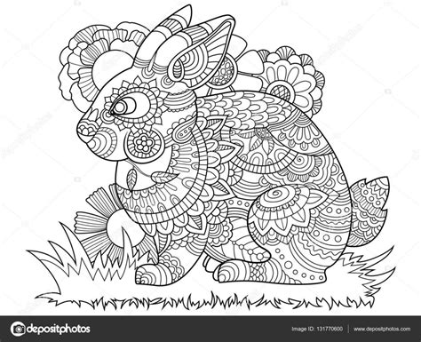 Zentangle Coloring Pages Cat Sketch Coloring Page
