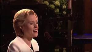 """Kate McKinnon sang """"Hallelujah"""" as Hillary Clinton on 'SNL ..."""