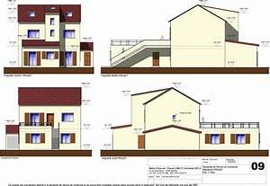 Plan Facade Maison : r alisations extension r novation d coration maison individuelles ~ Melissatoandfro.com Idées de Décoration