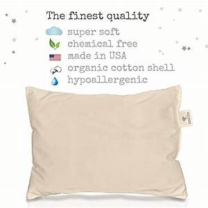 100 organic cotton toddler pillow hypoallergenic With best pillow made in usa