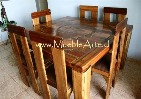 muebles rusticos  madera noble reciclada en villa luro