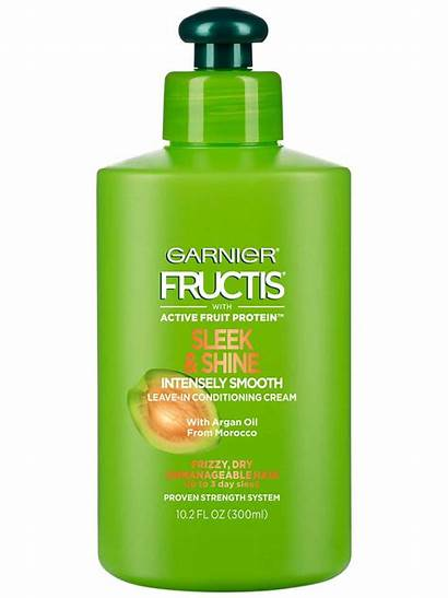 Fructis Leave Sleek Shine Smooth Garnier Cream
