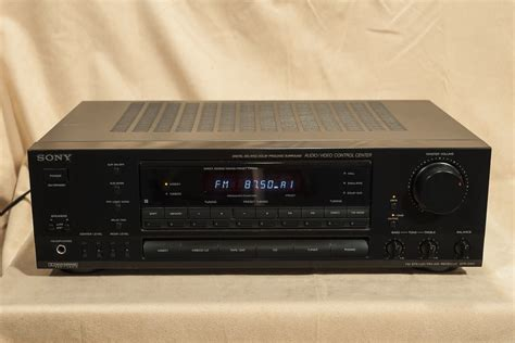 Sony Str-d611 5 Channel A/v Receiver (75w + 75w)
