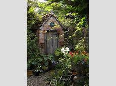 Garden Decor Brick Garden Shed A Gardener's Notebook