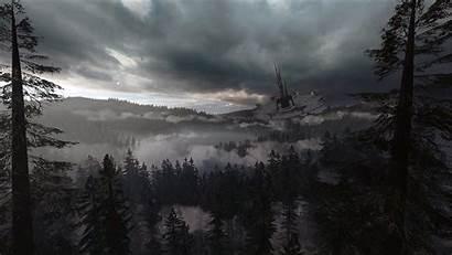 Endor Wars Star Background Battlefront Thunderstorm Wallpapers