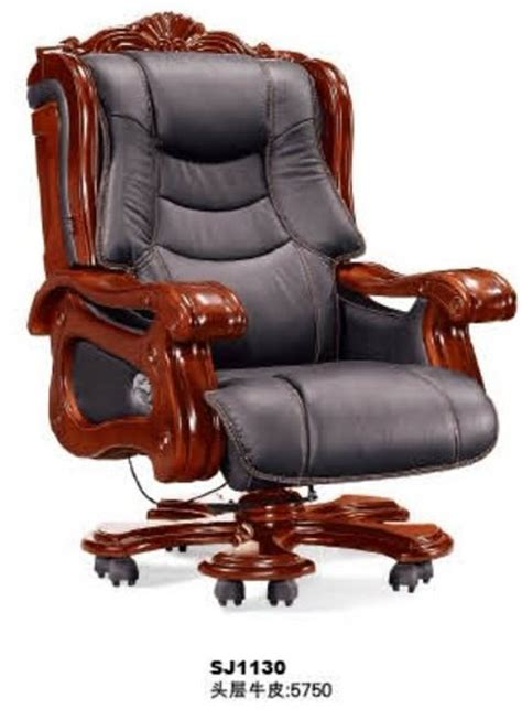 President Who Invented The Swivel Chair by Sj1130 Deluxe Genuine Leather President Office Chair