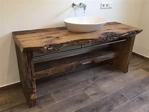 Waschbeckenunterschrank Holz Hängend : waschtisch mit unterschrank holz ~ Markanthonyermac.com Haus und Dekorationen