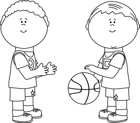 boys basketball clipart black and white black and white boys basketball autism resources