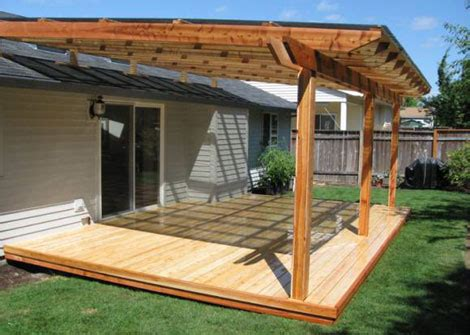how to build a patio cover deck and patio covers