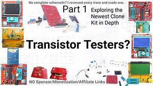 Full Circuit Schematic Draft 2017 Avr Transistor Tester