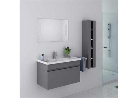 beau meuble de salle de bain gris taupe suspendu meuble de salle de bain gris taupe ref disagt