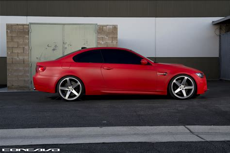 red bmw matte red bmw e92 m3 looks brilliant