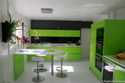 la cuisine verte cuisine leicht couleur verte