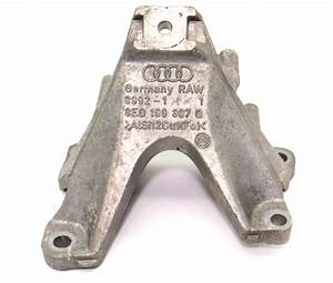 Lh Engine Mount Bracket 05-09 Audi A4 3 2 Bkh V6