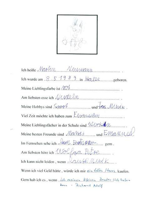 steckbrief muster kindergarten exemple cv etudiant