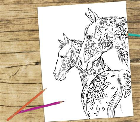 178 best images about horse lovers coloring books on