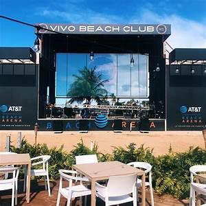 VIVO BEACH CLUB - Setting up for tomorrow! De La Ghetto ...
