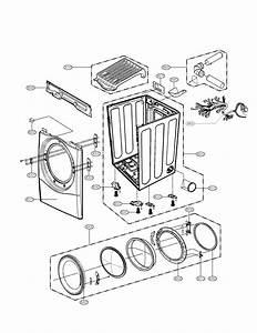 Lg Model Dle7177wm Residential Dryer Genuine Parts