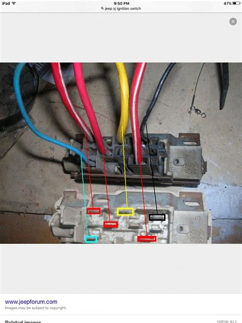 Jeep Switch Wiring by Electical Wiring Mess Ignition Switch Jeep Forum
