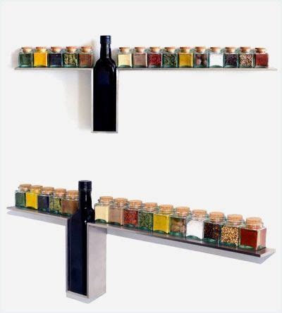 Brushed Stainless Steel Spice Rack by Best 25 Wall Mounted Spice Rack Ideas On How