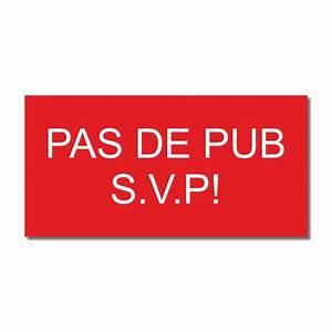Pas De Pub Merci : pasdepub ~ Dailycaller-alerts.com Idées de Décoration