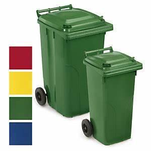 Poubelle 120 Litres : conteneur mobile couleur 120 et 240 litres entretien ~ Melissatoandfro.com Idées de Décoration