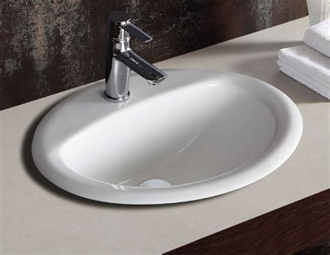 All Products :: Basins :: Fienza Crystal Drop In Basin