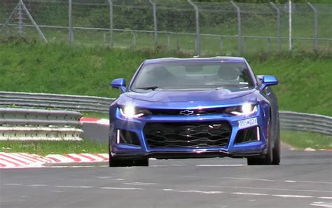 2016 Zl1 Camaro For Sale by 2017 Camaro Zl1 Duo Filmed At The Nurburgring Chevytv