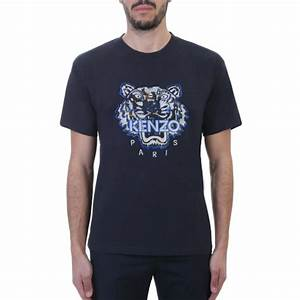 99329a661 Kenzo Mens Tiger T Shirt. kenzo tiger print cotton t shirt in black ...