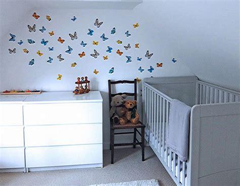 stickers papillon chambre bebe stickers chambre bébé fille deco maison moderne