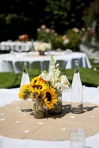 Centre De Table Champetre : d co de table champ tre 18 id es pour une ambiance conviviale ~ Melissatoandfro.com Idées de Décoration
