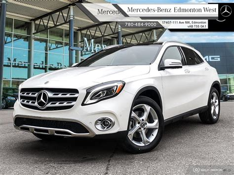 Find out what these beauties offer! New 2020 Mercedes Benz GLA 250 4MATIC - Navigation SUV in Edmonton, Alberta
