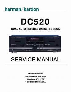 Harman Kardon Dc 520  Serv Man6  Service Manual  U2014 View Online Or Download Repair Manual