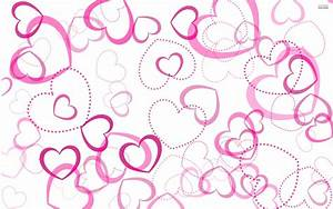 Pink Heart Desktop Background Wallpaper - Images, Photos ...
