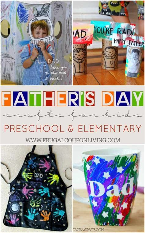 s day crafts for preschool elementary and more 250 | fathers day crafts preschool frugal coupon living short e1490105067970
