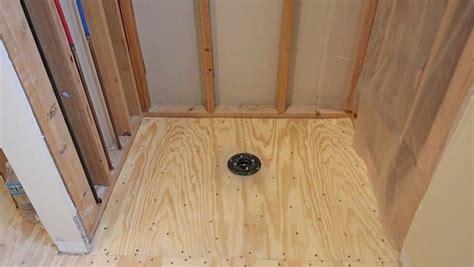 Custom Shower Pans by Custom Shower Pans How To Install The Kbrs Tile Basin 174