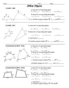 scale drawing dilation activity sreb math pinterest