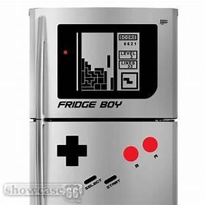 Acheter Un Frigo : stickers pour un frigo de geek il deviendra une game boy ~ Premium-room.com Idées de Décoration