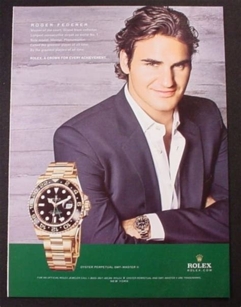 rolex magazine ads magazine ad for rolex oyster perpetual gmt master ii