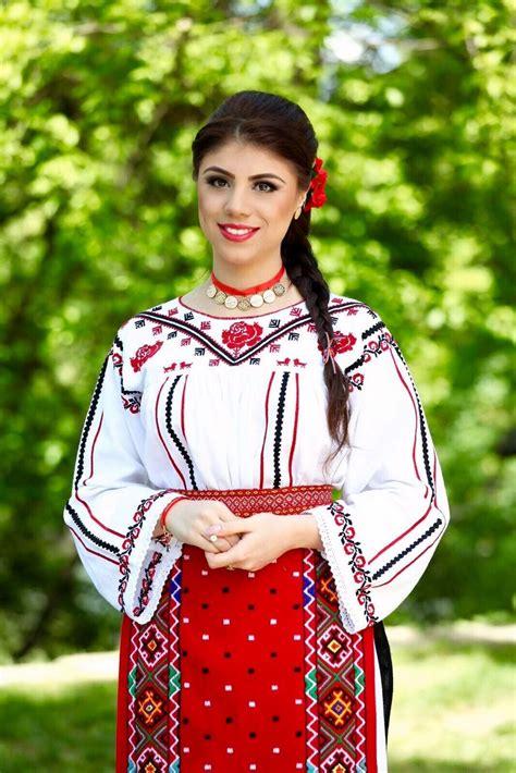Costum popular Romanesc din Dobrogea Traditional Romanian ...