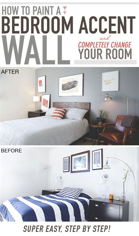 paint  bedroom accent wall  completely change