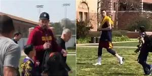 Total Pro Sports Kevin Love Showed Love & Gave Autograph ...