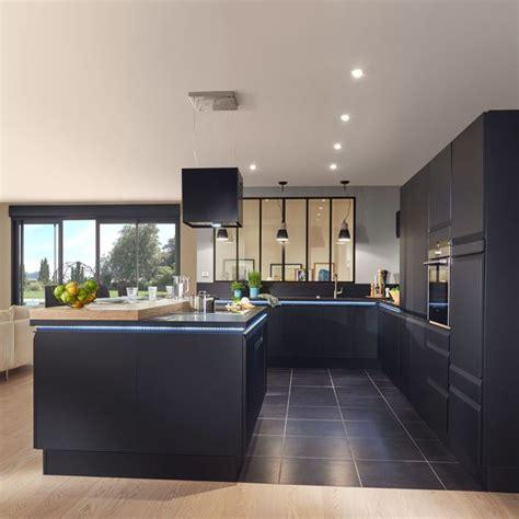 cuisine contemporaine moderne chic urbaine c 244 t 233 maison