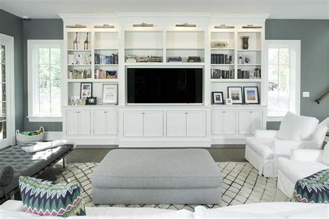 white living room cabinets living room built ins with picture lights design ideas