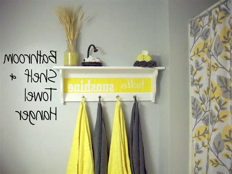 yellow and grey bathroom decorating ideas lighting home