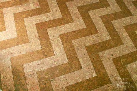 Installing Cork Tile Flooring in the Kitchen   Pretty