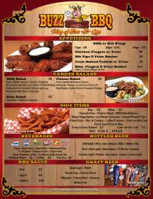 BBQ Restaurant Menu Ideas