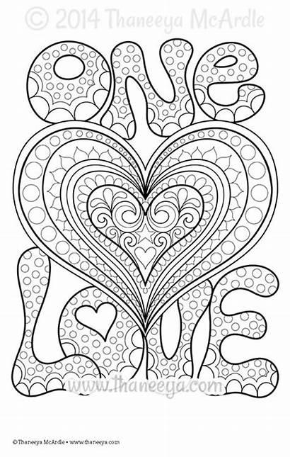 Coloring Thaneeya Pages Mcardle Adult Mandala Sheets